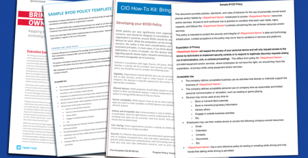 BYOD Policy Template Sample