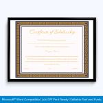 scholarship-certificate