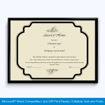 award-of-honor
