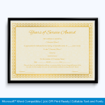 service-of-year-certificate