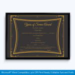 years-of-service-certificate-template