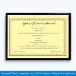 certificate-of-service-award