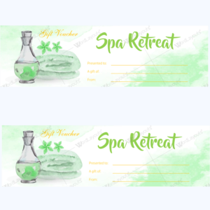 spa gift certificate 13