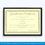 Certificate-Of-Graduation