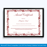 certificate-of-award
