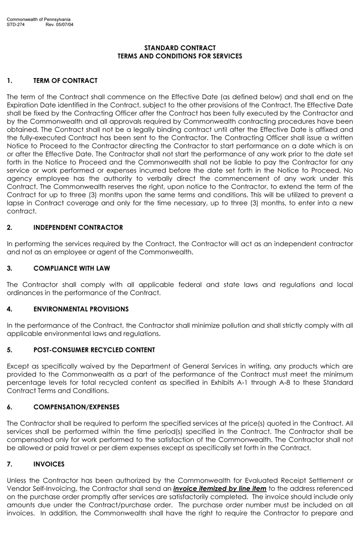 Terms and conditions templates to write polices for your for Term and condition template