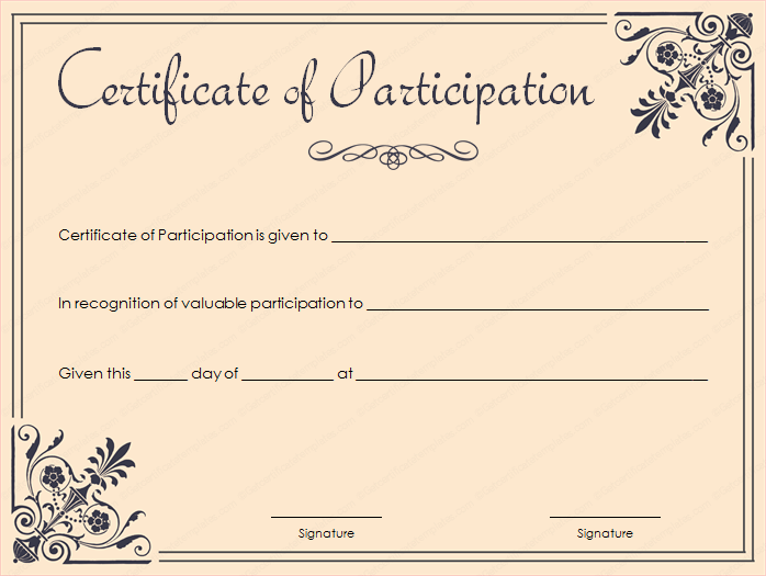89 elegant award certificates for business and school events for Certificate template word 2016