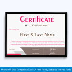 best salesperson award certificate template