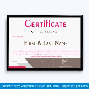 best salesperson award certificate template