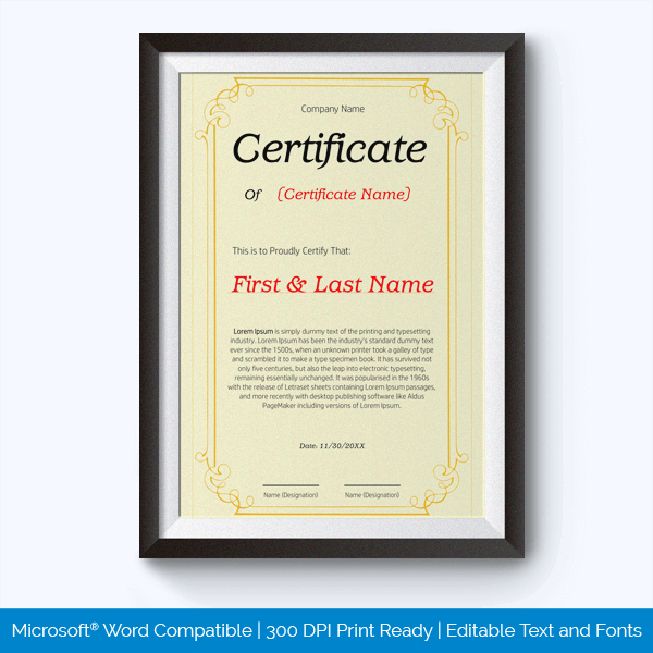 89 elegant award certificates for business and school events best teacher award certificate templates yadclub Gallery