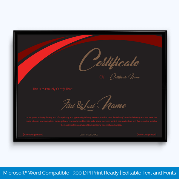 89 elegant award certificates for business and school events free award certificate templates yadclub Gallery