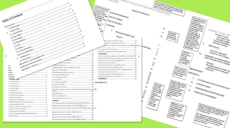 Table-of-Contents-Templates