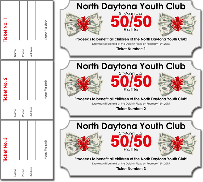 Doc500386 Raffle Ticket Template with Numbers Free Printable – Numbered Raffle Ticket Template Free