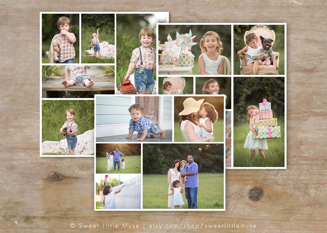 Storyboard Templates for Family Album