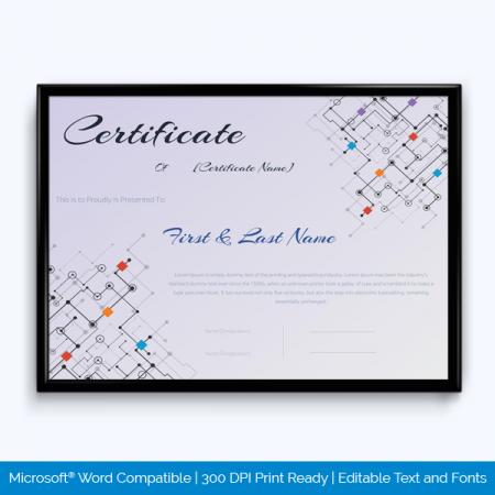 award certificate templates 500 printable awards