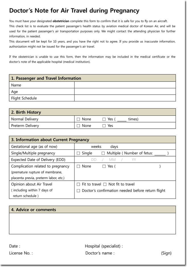 doctor u0026 39 s note templates