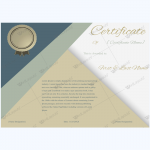 Excellence-award-certificate-template