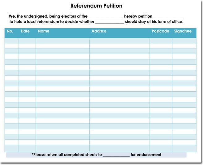 Referendum-Petition-Template