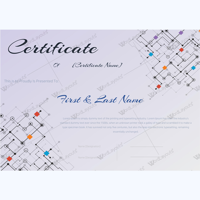 employee award certificate template