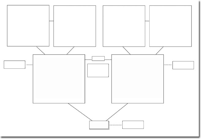 genogram templates 3 generation genogram