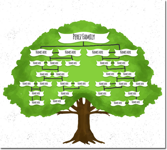 20+ Family Tree Templates & Chart Layouts