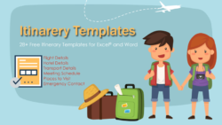Free Itinerary Templates for Word and Excel