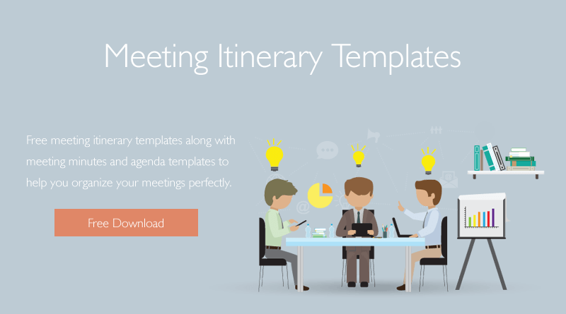 Meeting Itinerary Templates free download