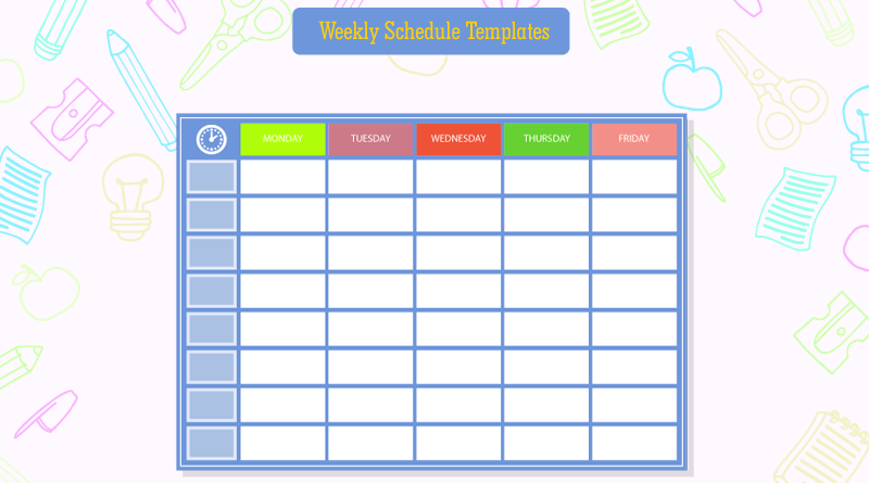 Students-Weekly-Itinerary-and-Schedule-Templates