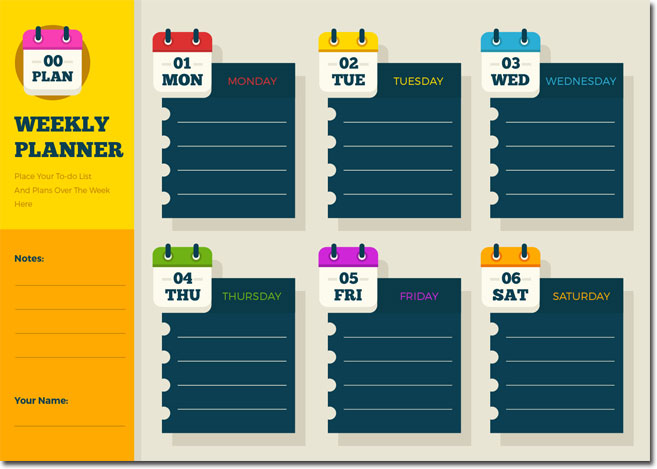 Weekly-Planner-Templates