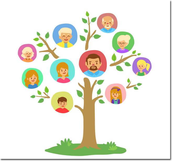family-tree-template-with-colored-circles