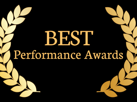 Printable and editable Best Performance Award Certificate Templates