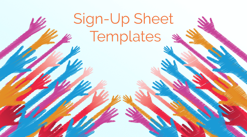 Signup Sheet Templates