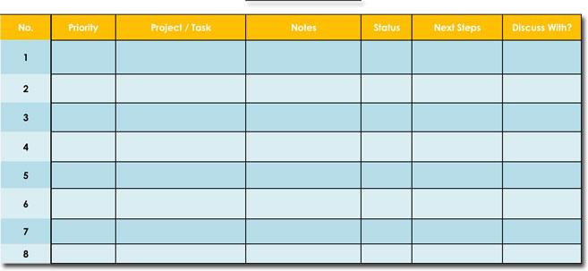 Task To Do List Sample