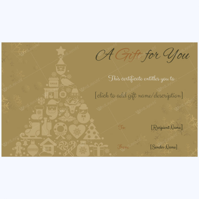 gift certificate template google docs golden trees christmas gift card template word layouts