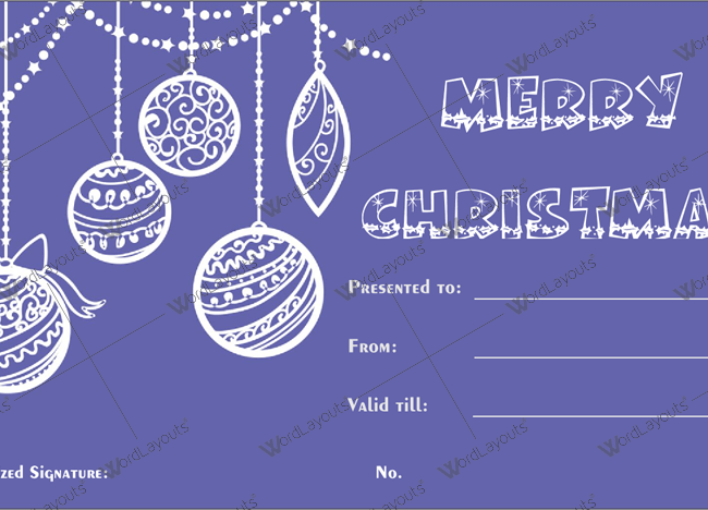 Christmas gift certificate template 33 word layouts christmas gift certificate template 33 yadclub Image collections