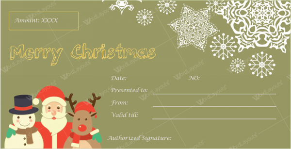 Christmas gift certificate template 29 word layouts christmas gift certificate template 29 yelopaper Image collections