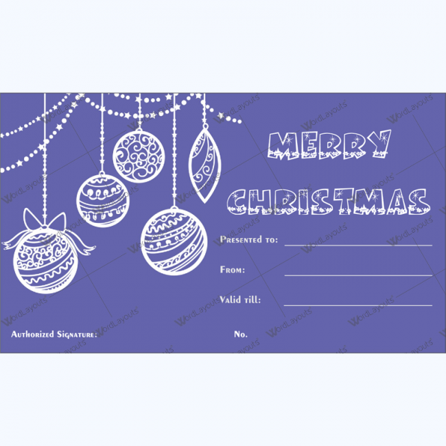 Christmas gift certificate template 33 word layouts christmas gift certificate template 33 yadclub Choice Image