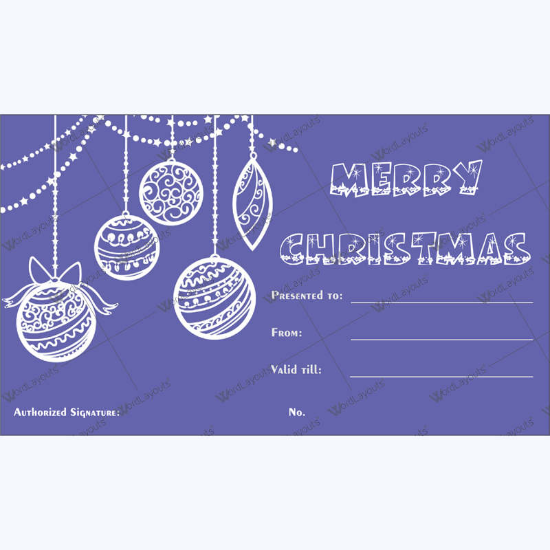 Gift Certificate Templates - Make Gift Certificate in 3 Steps