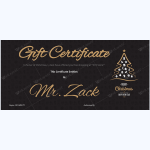 Christmas-Certificate-(Classic-Black-Background)