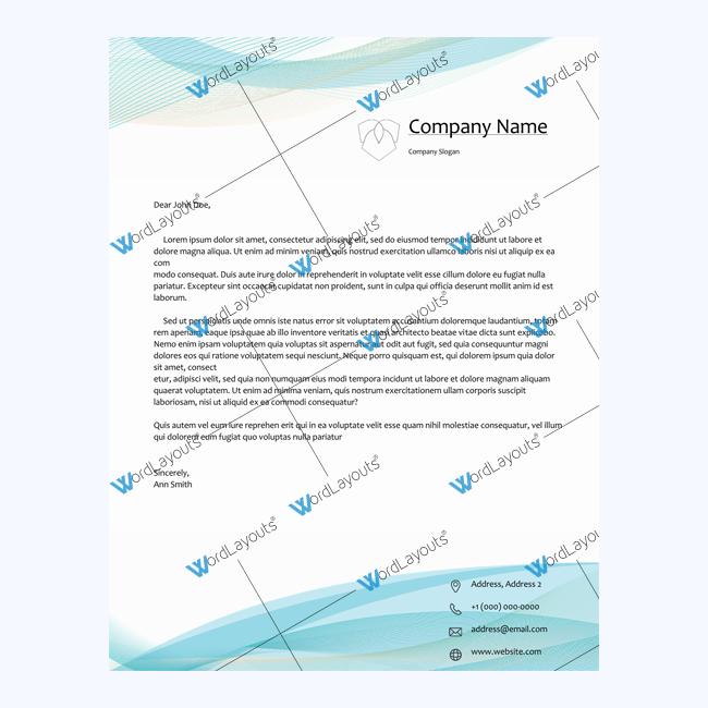 free letterhead format doc