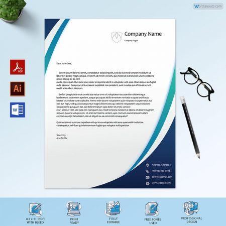 Editable Letterhead Template
