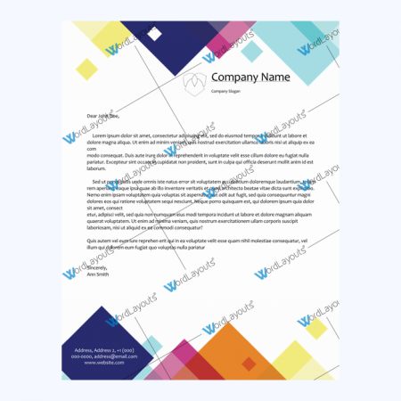 free printable letterhead