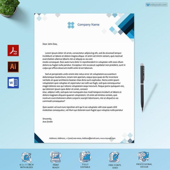 Free Letterhead Sample