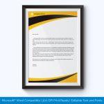 letterhead format doc