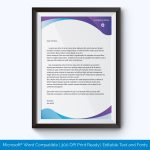 Sample of letterhead