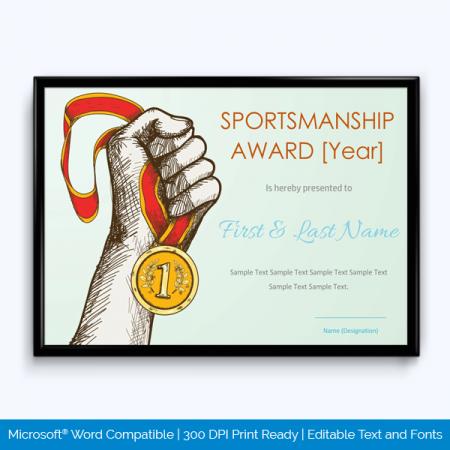 Sport Certificate Online