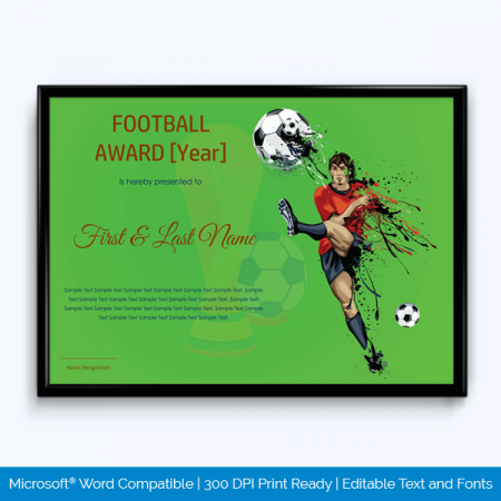 Free Sports Day Certificates To Print