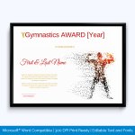 How To Make Sports Certificate