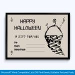 Happy Halloween Gift Certificate