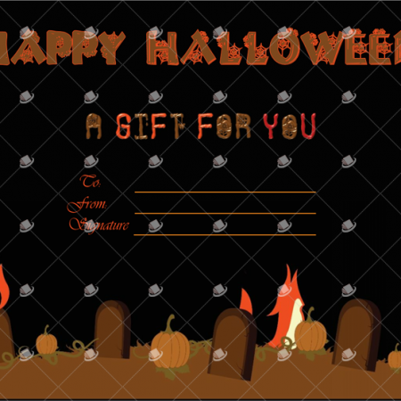 Printable Halloween Template